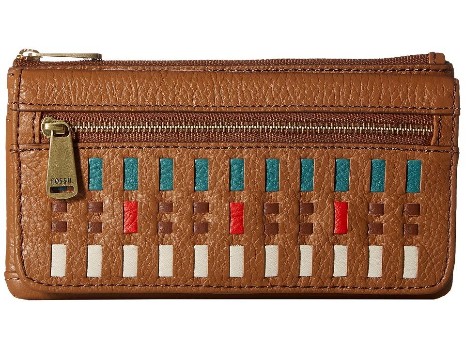 Fossil - Preston Flap Clutch RFID (Multi) Clutch Handbags