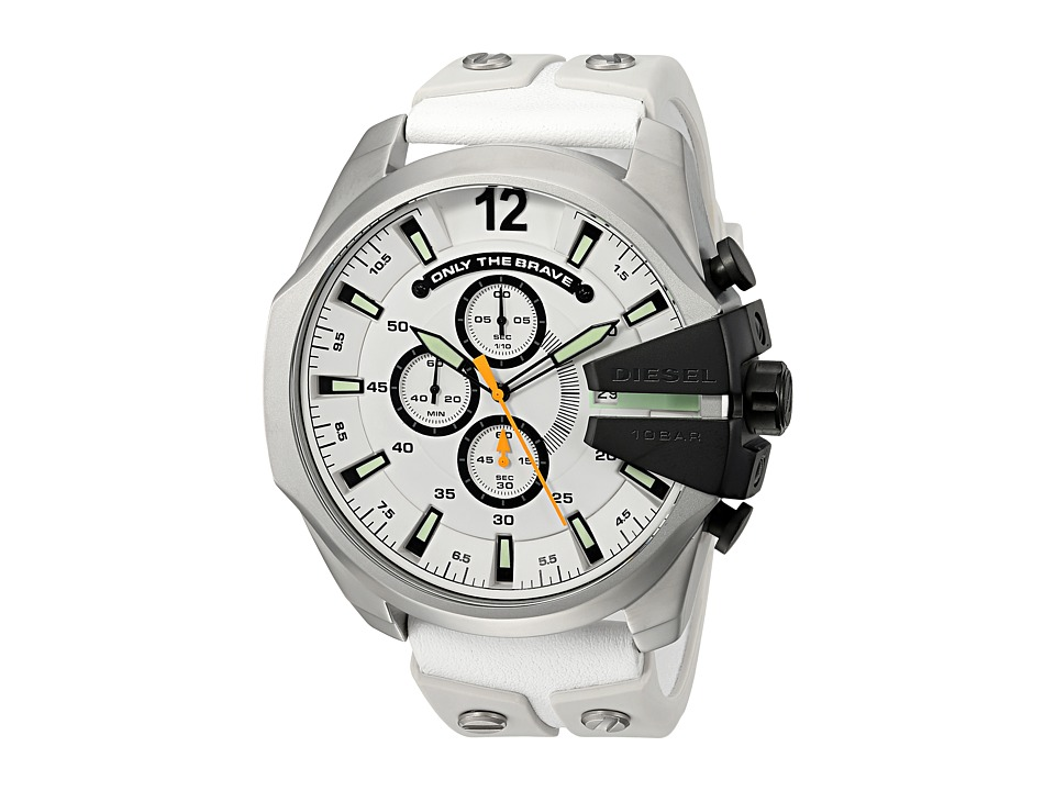 Diesel - Mega Chief - DZ4454 (White) Watches