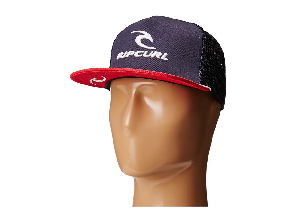 Rip Curl - Rip Team Trucker Hat (Navy) Caps