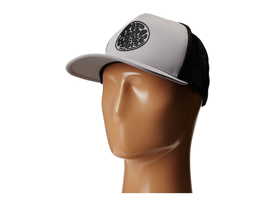 Rip Curl - Wettie Trucker Hat (Light Grey) Baseball Caps