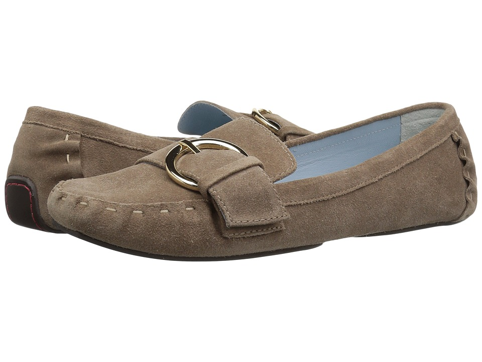 Frances Valentine - Teddy (Stone Suede) Women's Shoes