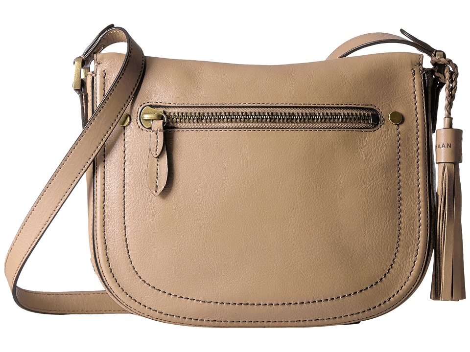 Cole Haan - Saddle Crossbody (Nude) Cross Body Handbags