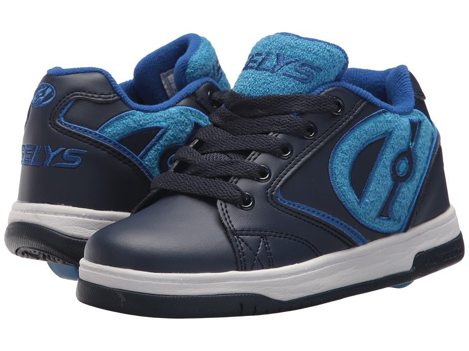 Heelys Propel Terry (Little Kid/Big Kid/Adult) (Navy/Blue) Boys Shoes