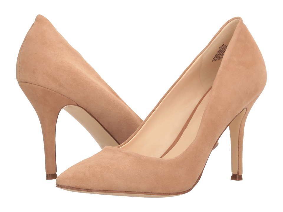 Nine West - Flax (Dark Natural Suede 1) High Heels