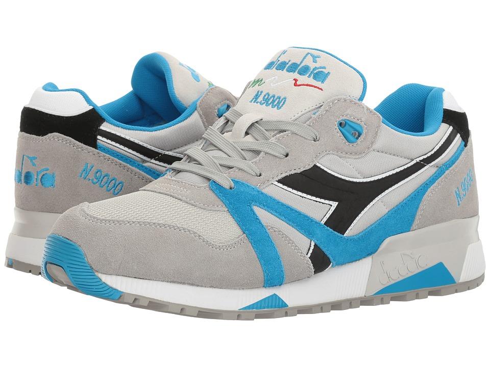 Diadora N9000 NYL (Blue Angel Falls/Dresden Blue) Athletic Shoes