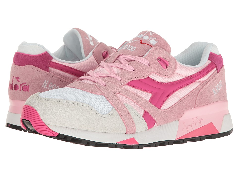 Diadora N9000 NYL (Pink Rose Shadow/Magenta) Athletic Shoes
