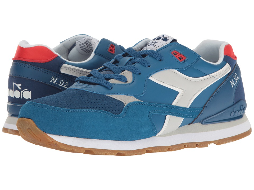 Diadora - N-92 WNT (Dark Blue/Deep Water) Athletic Shoes