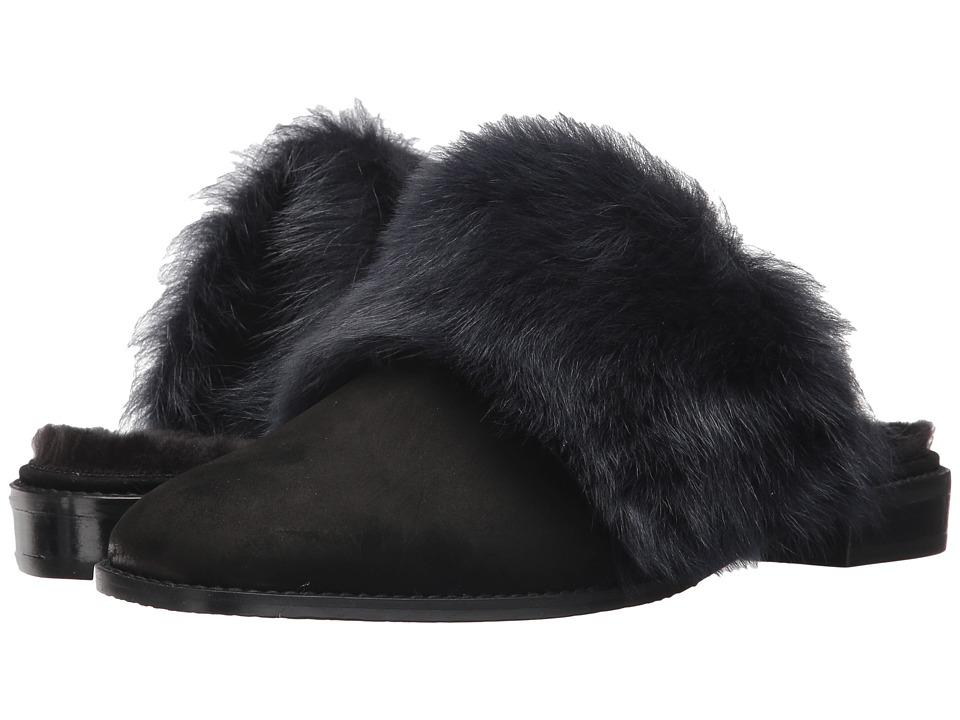 Stuart Weitzman Furgetit (Raven Long Fur) Women