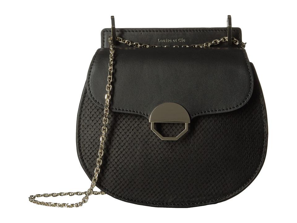 Louise et Cie - Sonye Crossbody (Black) Cross Body Handbags