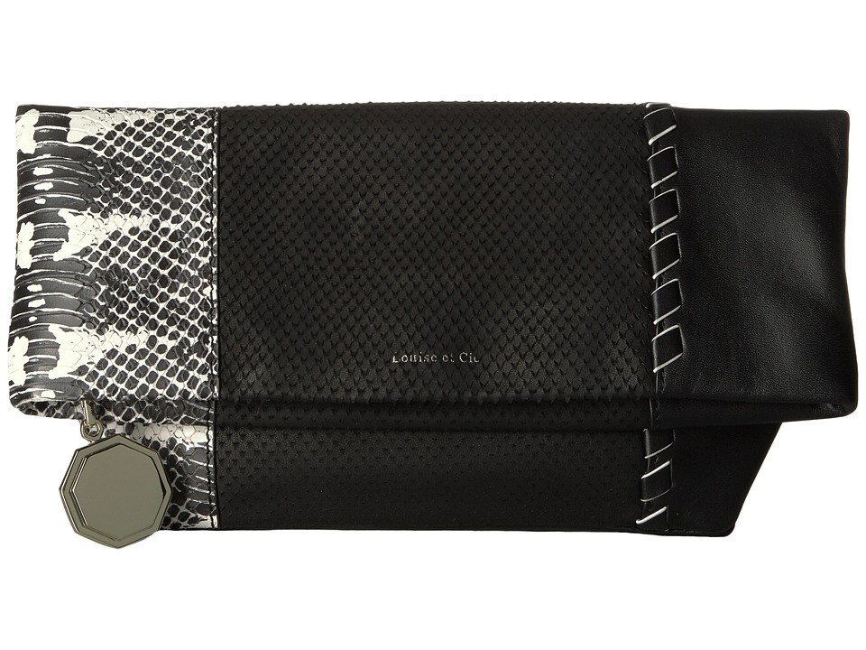Louise et Cie - Melle Clutch (Black) Clutch Handbags