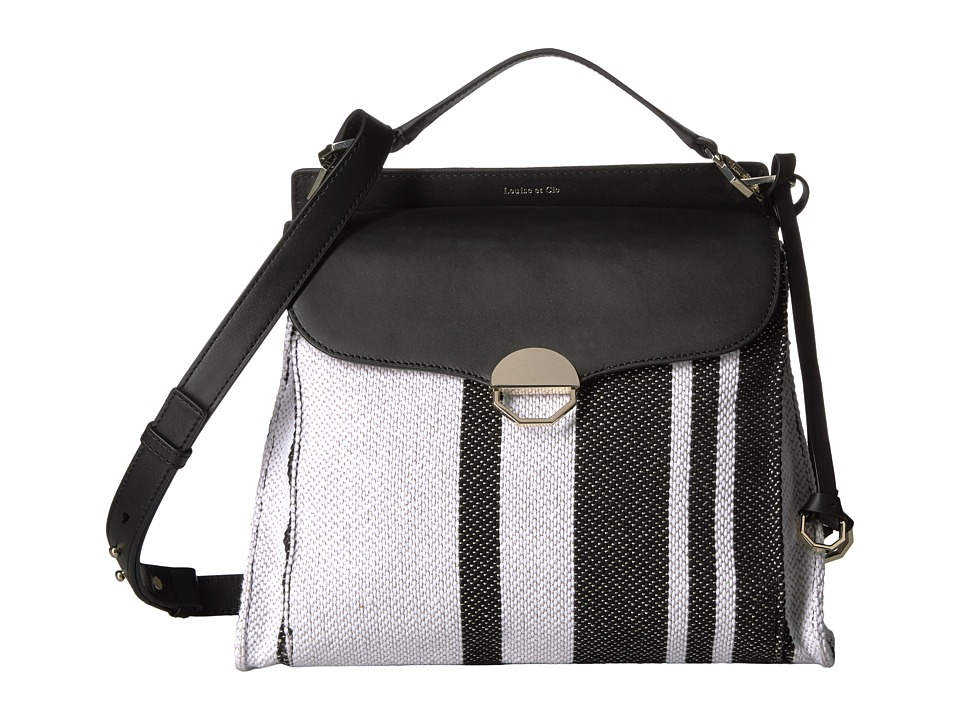 Louise et Cie - Sonye Large Crossbody (Stripy Weave) Cross Body Handbags