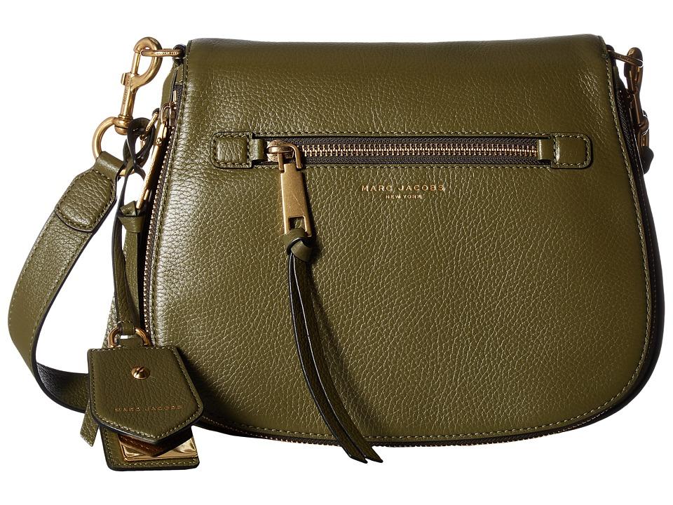 Marc Jacobs - Recruit Saddle Bag (Army Green) Handbags