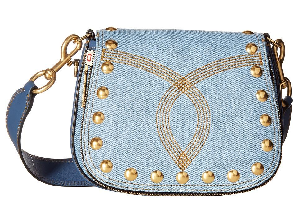 Marc Jacobs - Denim Small Nomad (Denim) Handbags