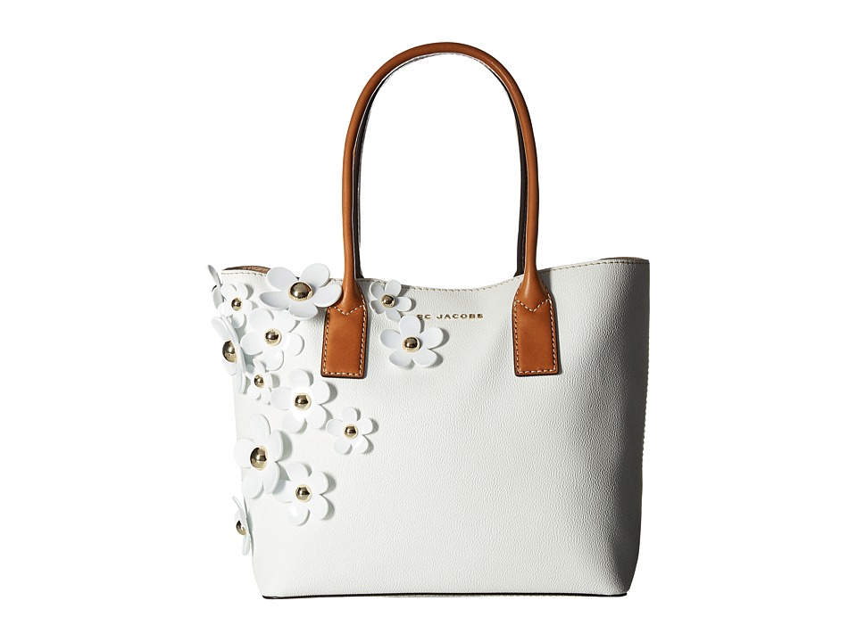 Marc Jacobs - The Daisy Tote (Lily White Multi) Tote Handbags