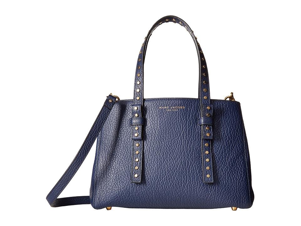 Marc Jacobs - Mini T (Midnight Blue) Cross Body Handbags