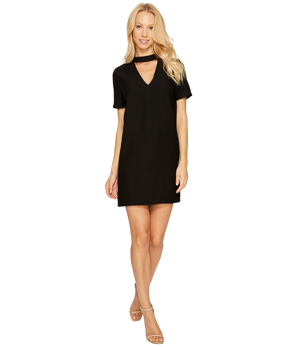 Brigitte Bailey - Kimberley Short Sleeve Keyhole Dress (Black) Women's Dress