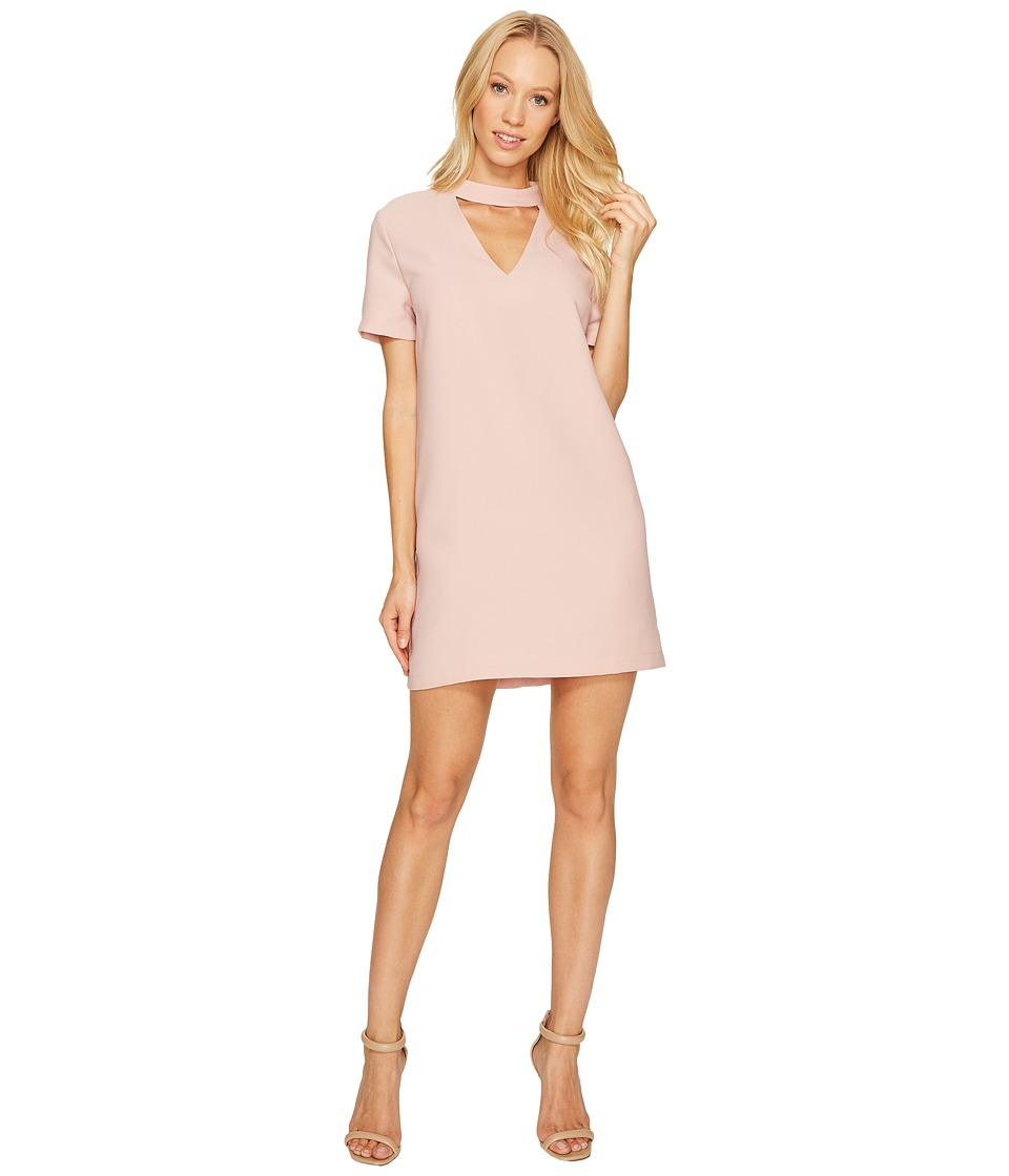 Brigitte Bailey - Kimberley Short Sleeve Keyhole Dress (Blush) Women's Dress