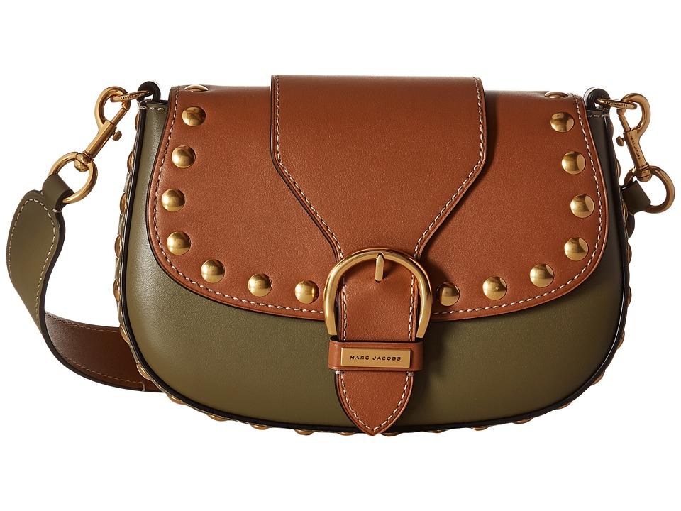 Marc Jacobs - Studded Navigator (Army Green) Handbags