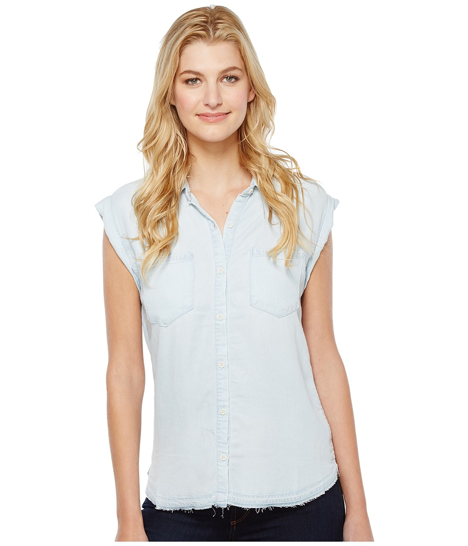 Joe's Jeans - Emilia Sleeveless Shirt (Bleach Wash) Women's Sleeveless