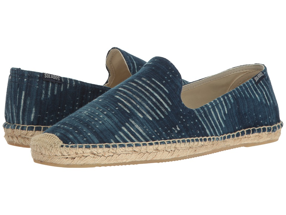 Soludos - Bandana Smoking Slipper (Indigo) Men's Shoes