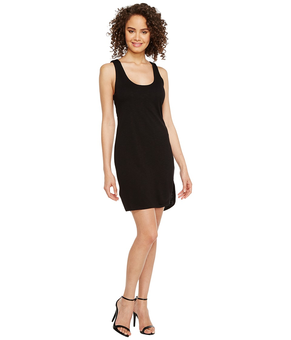 Lanston - Twist Back Dress (Black) Women's Dress