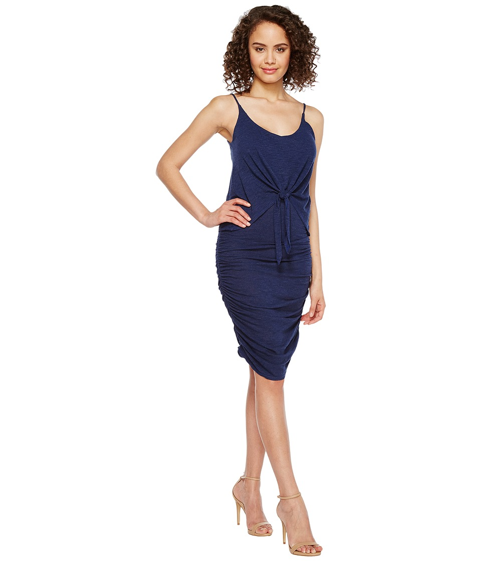 Lanston - Tie Front Dress (Cove) Women's Dress