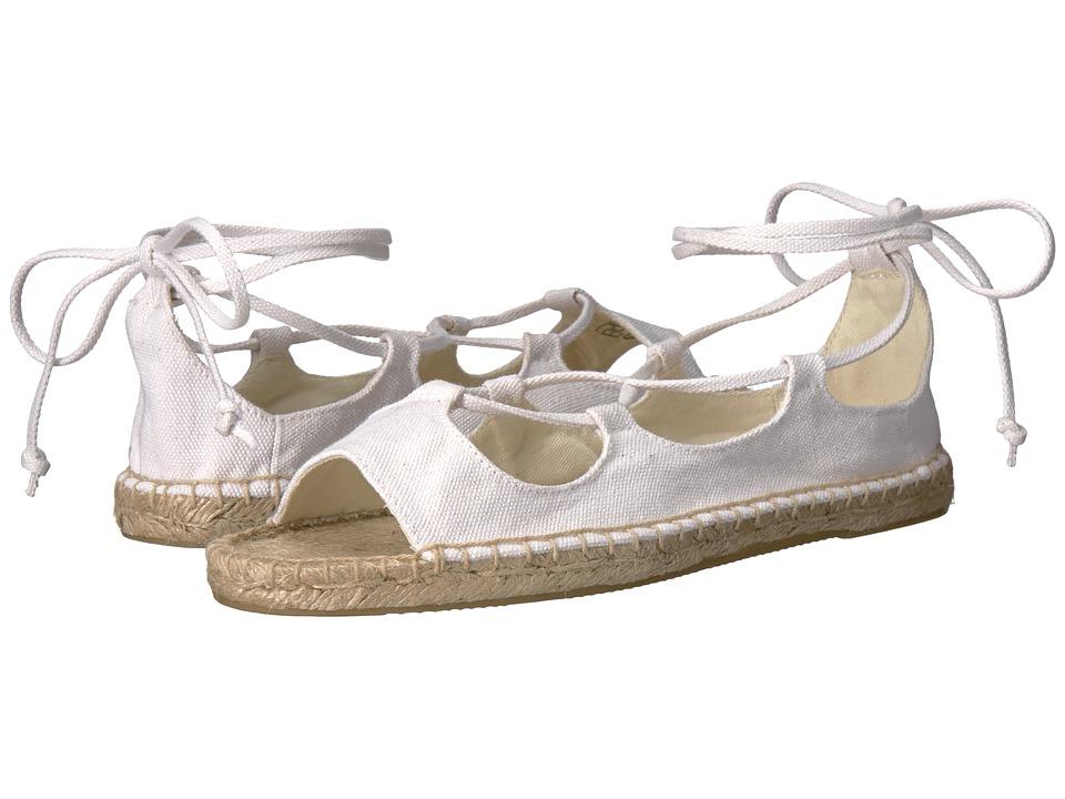 Soludos - Biarritz Sandal (White) Women's Sandals