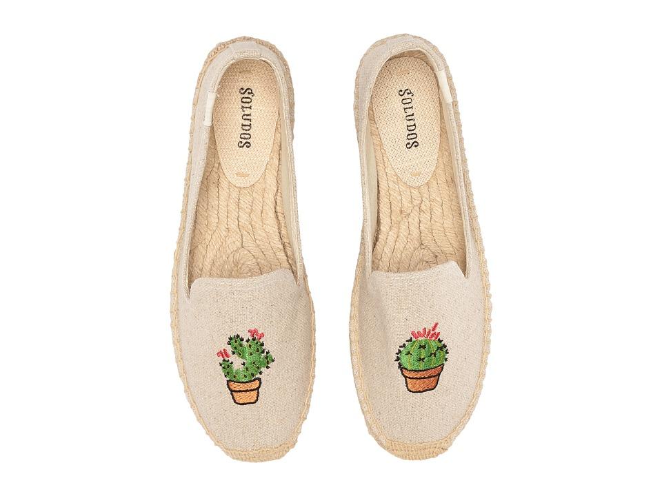 Soludos Cactus Platform (Sand) Women