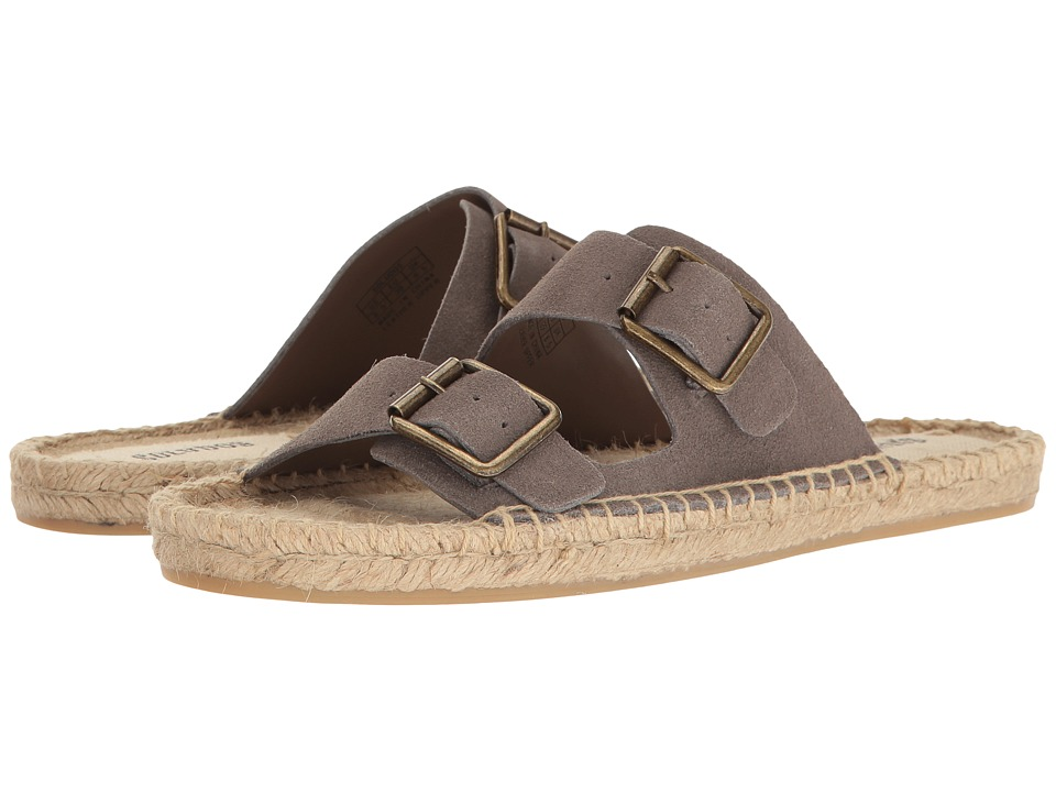 Soludos Elba Sandal (Dove Gray) Women
