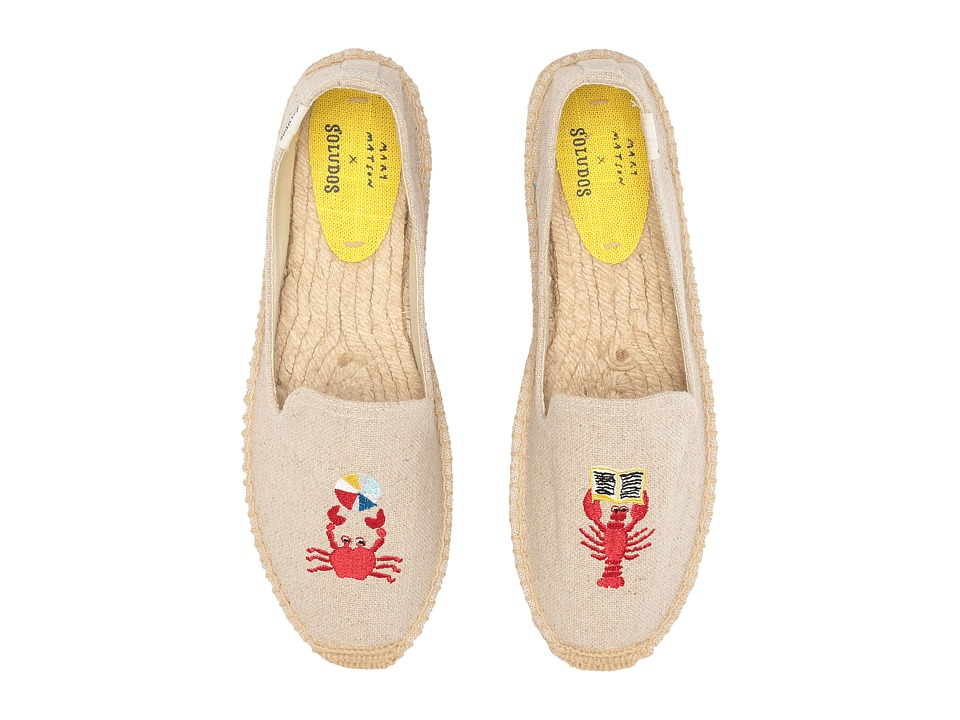 Soludos Lobster and Crab Platform (Sand) Women