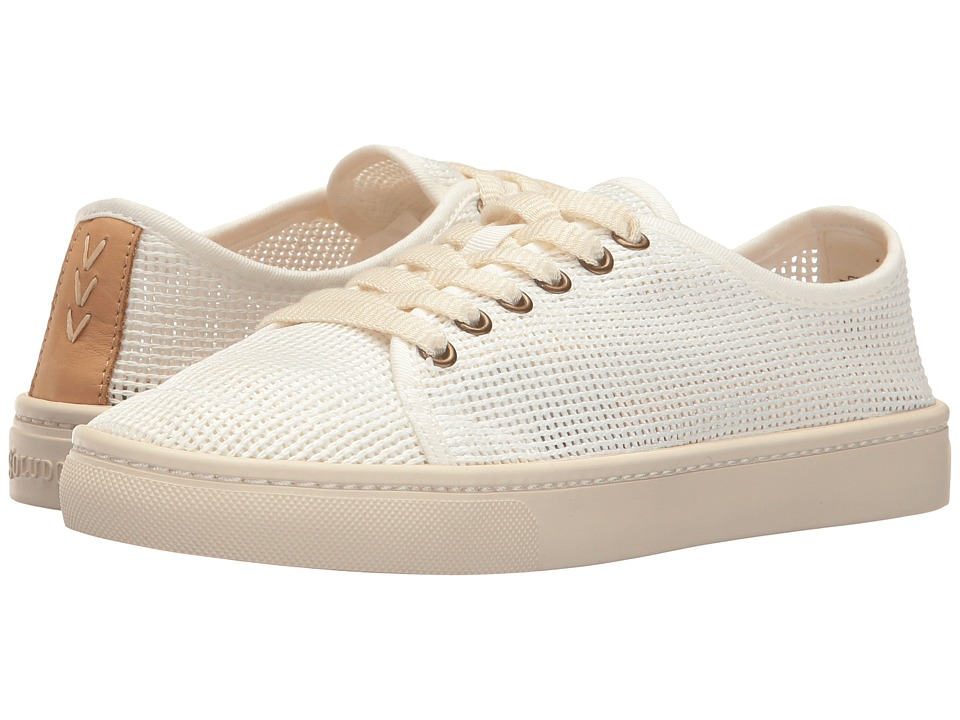 Soludos Mesh Lace-Up Sneaker (White) Women