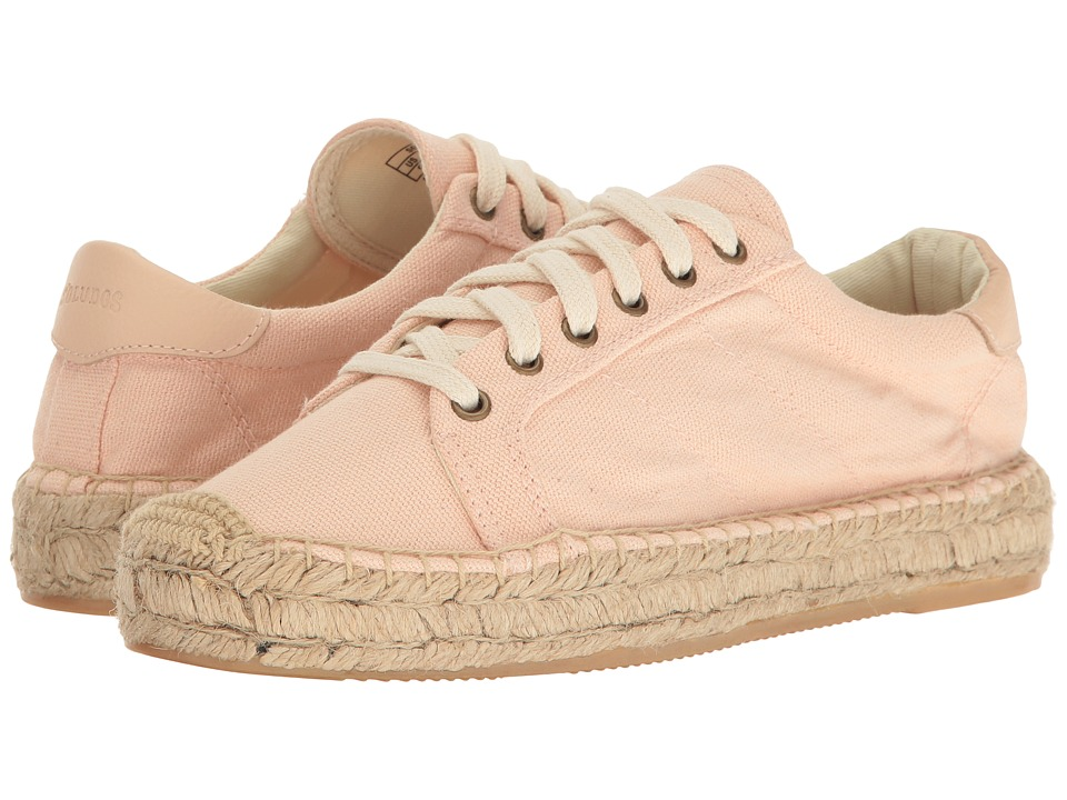Soludos Platform Tennis Sneaker (Soft Rose) Women