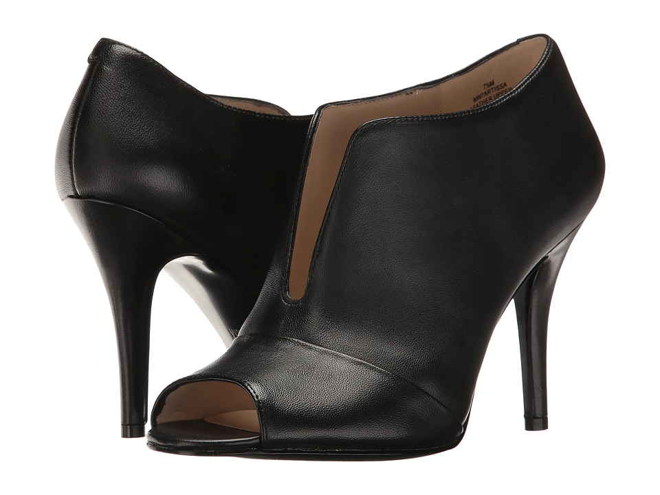 Nine West Artissa (Black Leather) Women