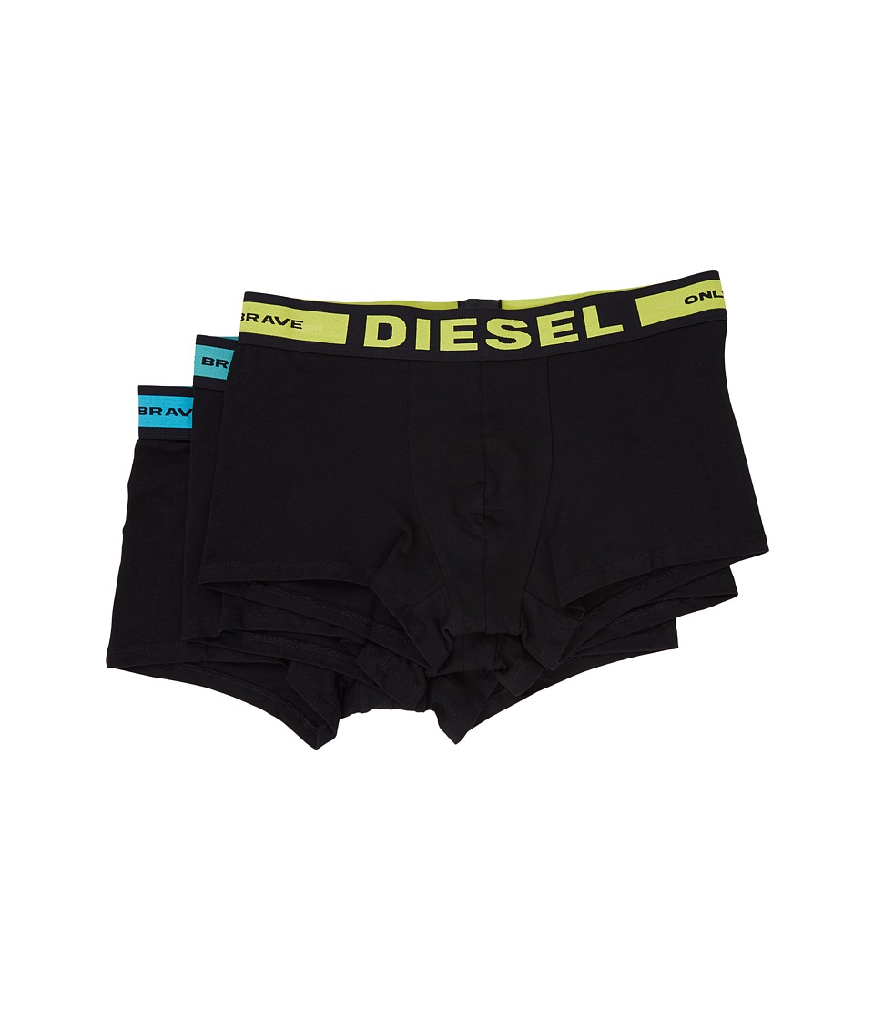 Diesel - Shawn 3-Pack Trunk BAOF (Very/Black) Men's Underwear