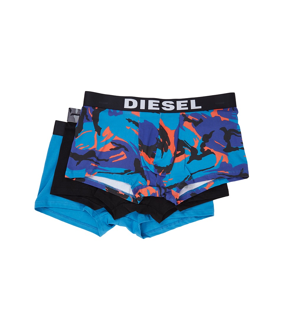 Diesel - Shawn 3-Pack Boxer SAOM (Formula Red) Men's Underwear