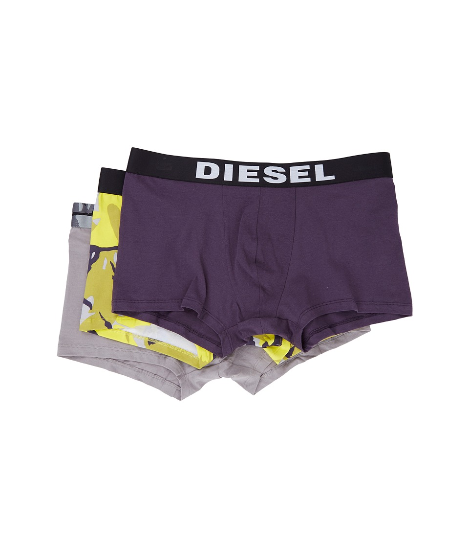 Diesel - Shawn 3-Pack Boxer SAOM (Medium Blue) Men's Underwear