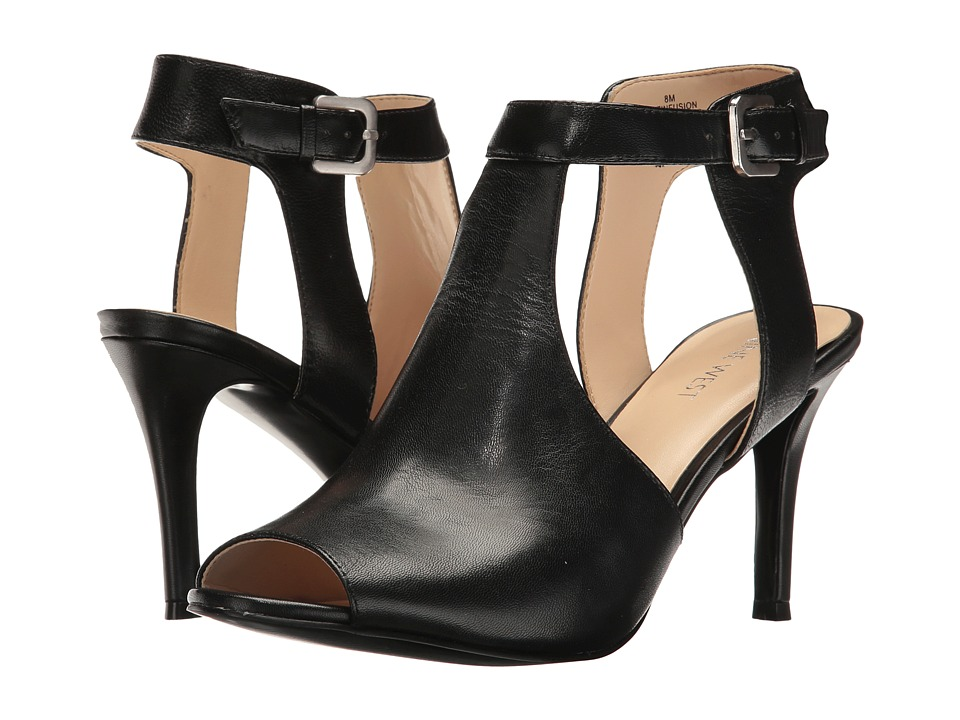 Nine West - Infusion (Black Leather) High Heels