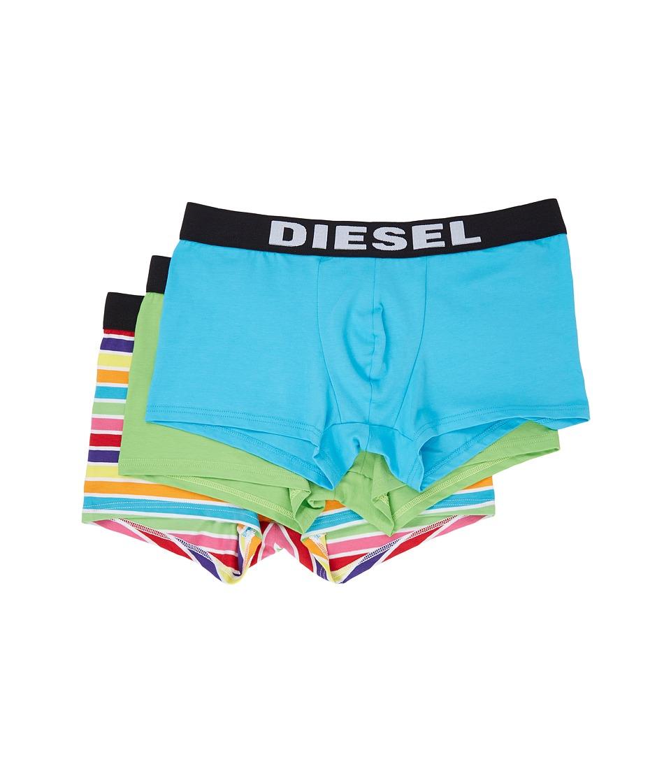 Diesel - Shawn 3-Pack Boxer WALL (Green/Blue) Men's Underwear