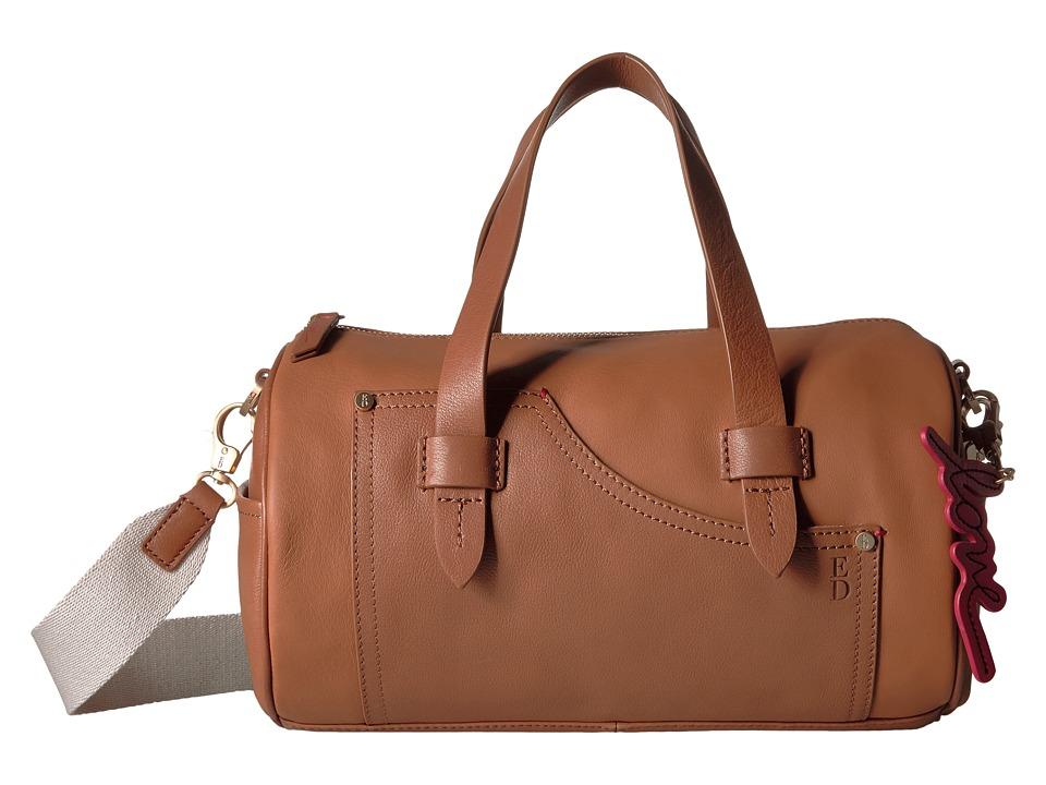 ED Ellen DeGeneres - Carmel Barrel Bag (Honey/Honey) Handbags