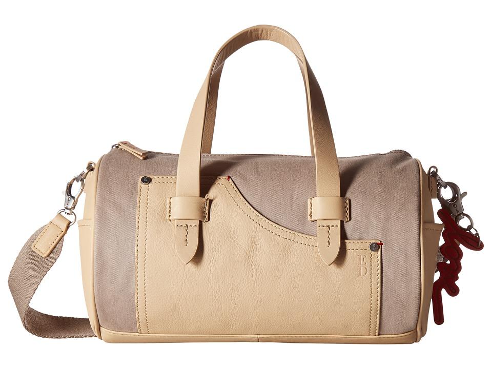ED Ellen DeGeneres - Carmel Barrel Bag (Fossil/Bisque) Handbags
