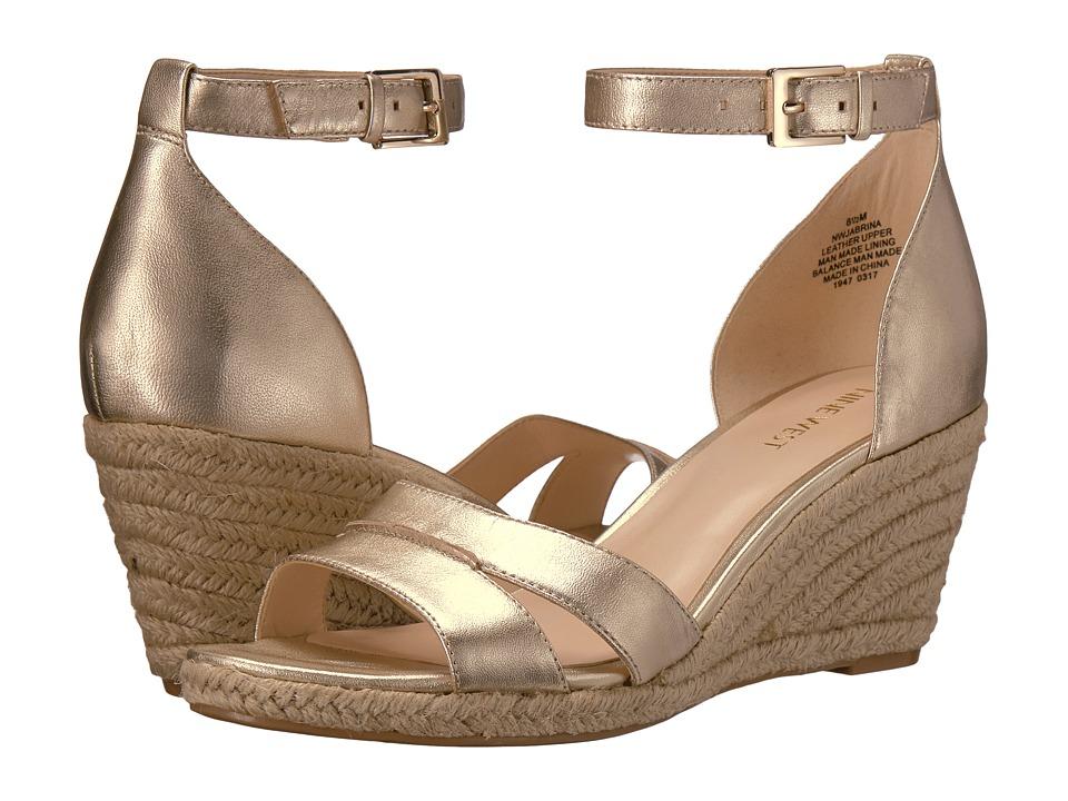 Nine West - Jabrina (Light Gold Metallic) Women's Shoes