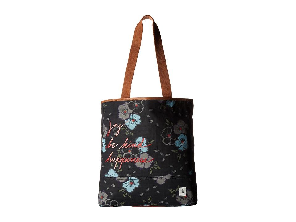 ED Ellen DeGeneres - Dakin Tote (Floral Ikat/Honey) Tote Handbags