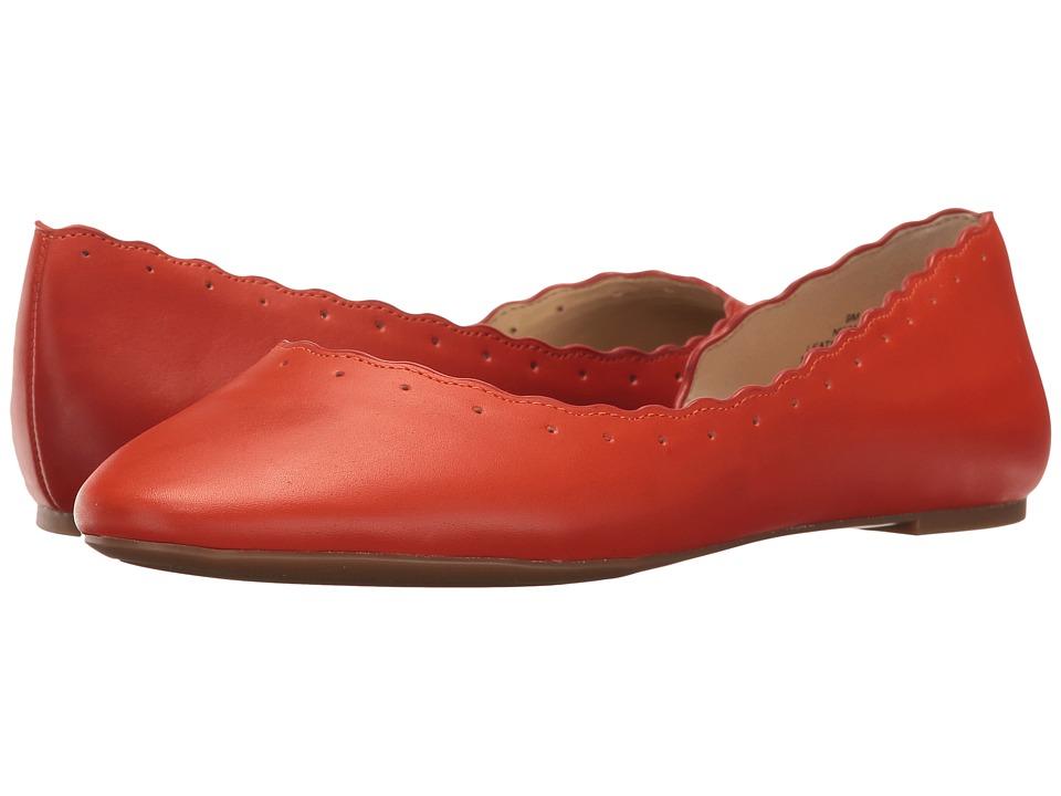 Nine West - Mai (Orange Leather) Women's Shoes