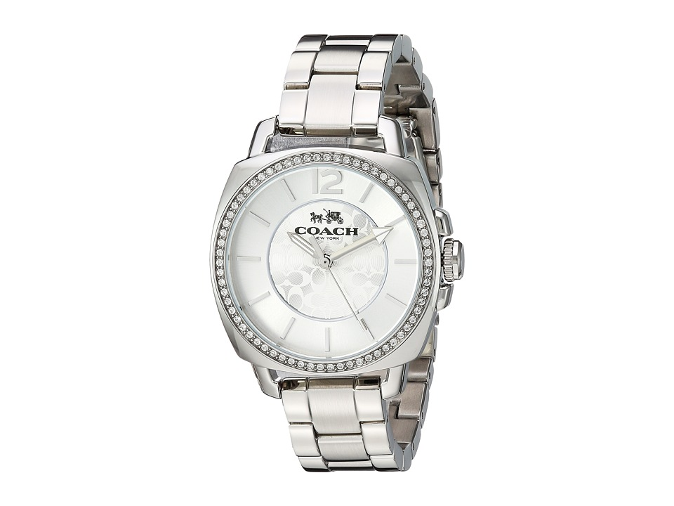 COACH - Boyfriend Small (Silver) Watches
