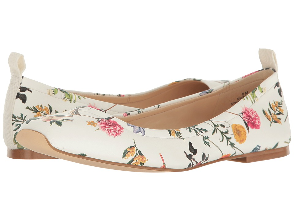 Nine West - Zdeno (White Multi Synthetic) Women's Shoes