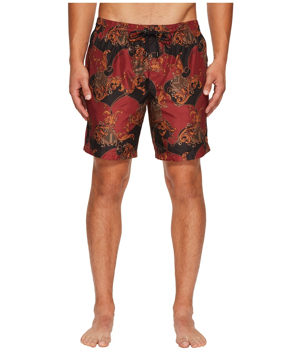 Dolce & Gabbana Coat of Arms Swim Trunk (Red) Men