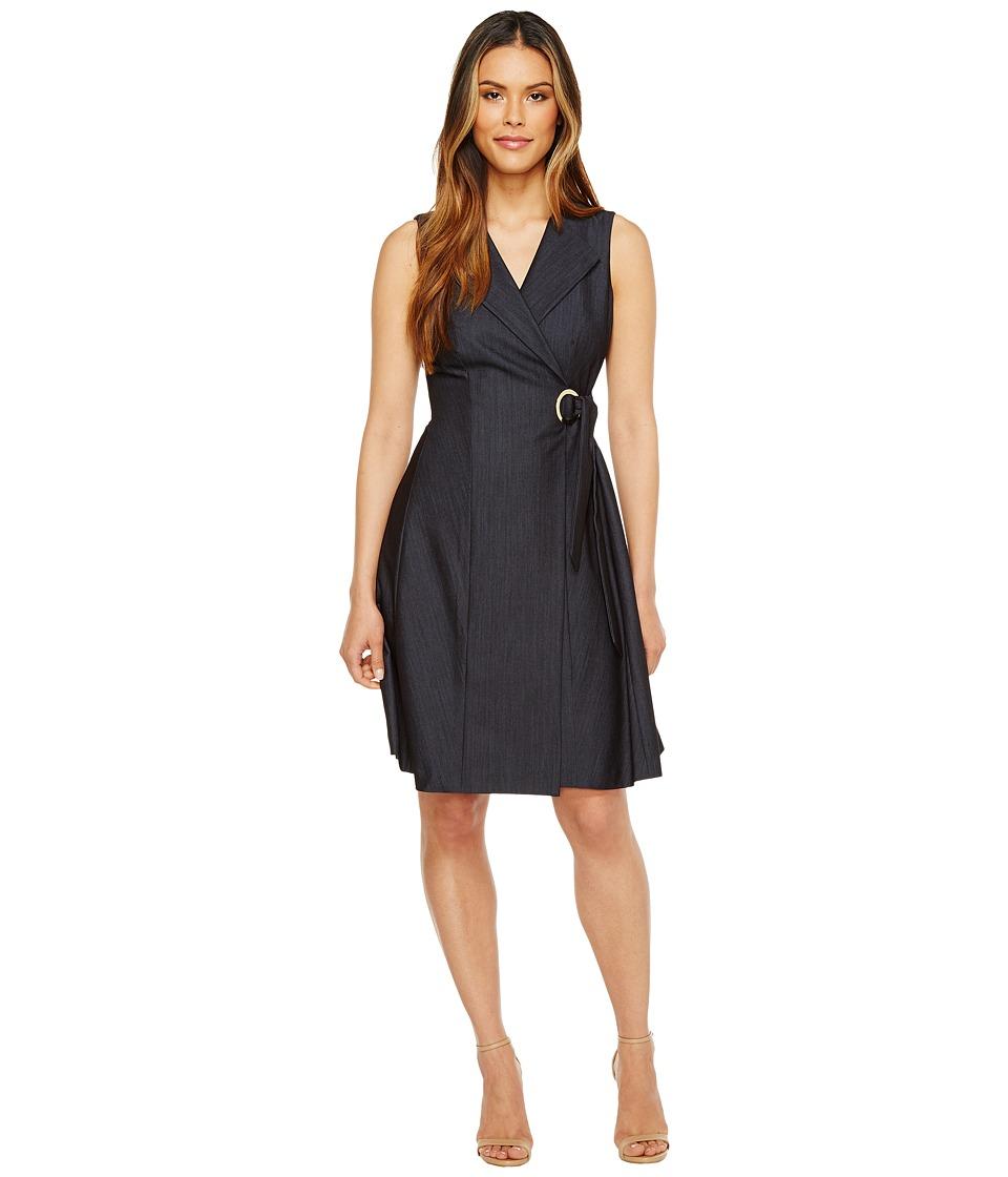 Calvin Klein - Denim Dress (Blue) Women's Dress
