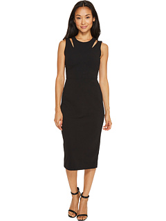 Shoulder Cut Out Sheath Dress by Calvin Klein