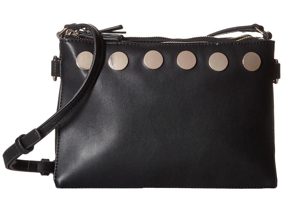 French Connection - Celia Crossbody (Black) Cross Body Handbags