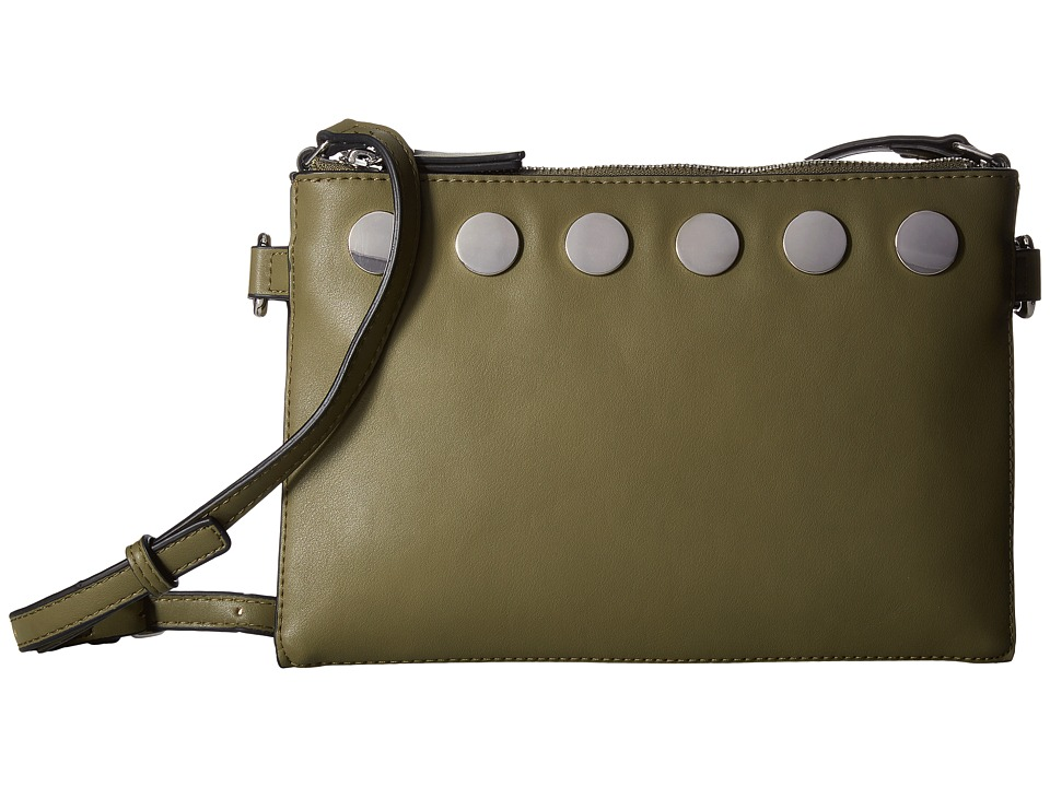 French Connection - Celia Crossbody (Burnt Olive) Cross Body Handbags